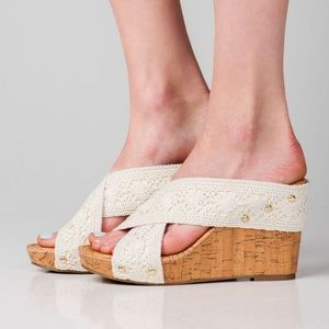 Madden Girl Lace Wedges